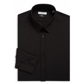 ヴェルサーチコレクション Men Clothing Cotton Twill Dress Shirt