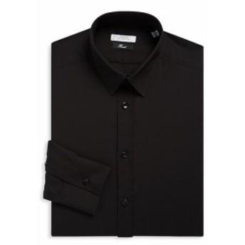 ヴェルサーチコレクション Men Clothing Cotton Twill Dress Shirt