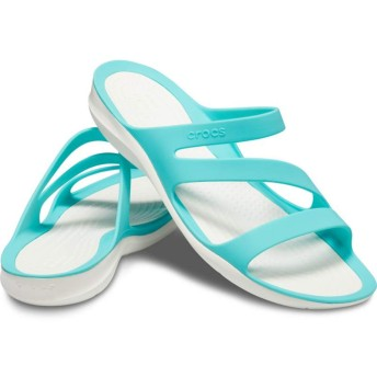 【クロックス公式】 スウィフトウォーター サンダル ウィメン Women's Swiftwater Sandal ウィメンズ、レディース、女性用 ブルー/青 21cm,22cm,23cm,24cm,25cm sandal サンダル 50%OFF