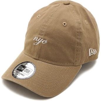 ニューエラ キャップ NEWERA CAP 9THIRTY ミニロゴ クロスストラップ MINI NYC SCRIPT メンズ レディース 帽子 KHA WHT カーキ系 12048736 SS19
