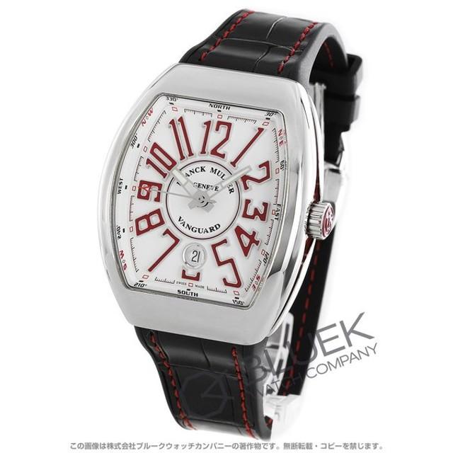 9fa4d1bd9c フランクミュラー ヴァンガード クロコレザー 腕時計 メンズ FRANCK MULLER V41 SC DT AC RG