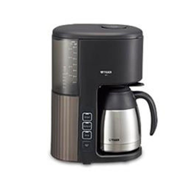 コーヒーメーカー 8杯用 真空サーバー ブラック ACE-S080-KQ
