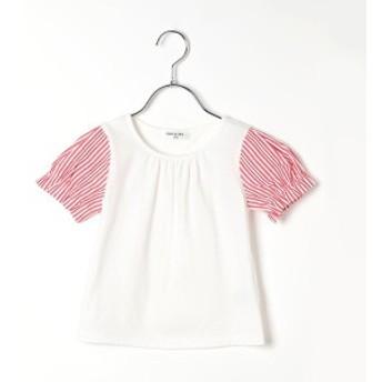 コムサフィユ(COMME CA FILLE)/ストライプ Tシャツ