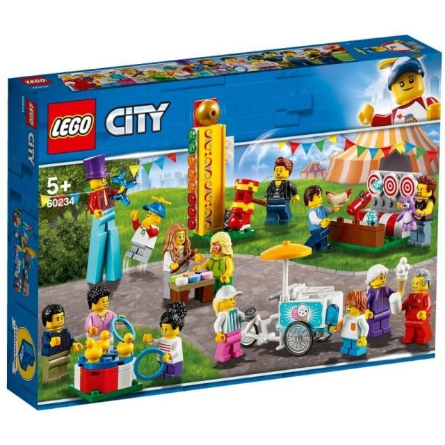 【オンライン限定価格】レゴ シティ 60234 ミニフィグセット - 楽しいお祭り