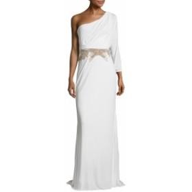 バッジリーミシュカクチュール レディース ワンピース Embellished One Shoulder Gown
