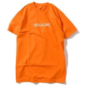 DEADLINE デッドライン MILITARY TEE 半袖 Tシャツ DL19S1-05 ORANGE オレンジ