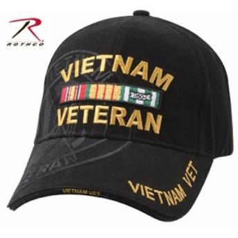 [半額セール]Rothco キャップ ベトナム ベテラン 9598 ブラック[ro9598]