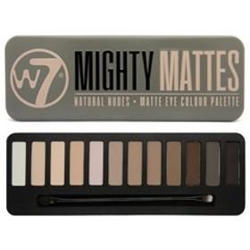 W7(ダブルセブン) W7 アイシャドウパレット6 マイティマット 化粧品 コスメ EYESHADOW PALETTE MIGHTY MATTES
