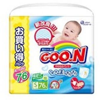 大王製紙 DAIO PAPER グーン やわらかパンツ 男女共用 Sサイズ 76枚 ベビー・キッズ用品
