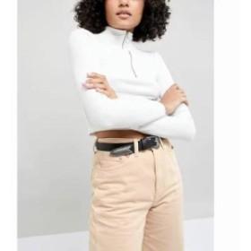 エイソス ベルト long tipped western waist and hip jeans belt Black