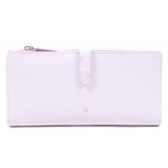 【中古】ルリアヨンドシー Luria 4'C 長財布 2つ折り ピンク /yy0507 レディース