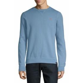 スコッチ&ソーダ Men Clothing Classic Garment-Dyed Cotton Sweater