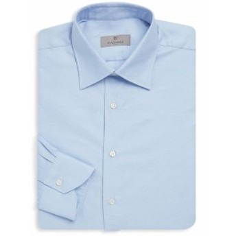 カナリ Men Clothing Classic Buttoned Cotton Dress Shirt
