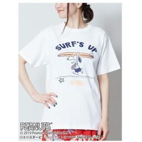 [マルイ] 【Kahiko】SNOOPY スヌーピーTシャツMサイズ SURF'S UP/チャイハネ(CAYHANE)