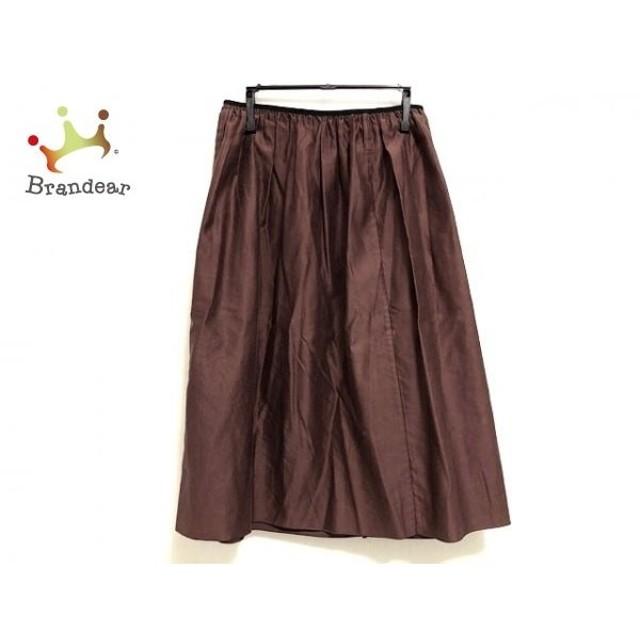 ドレステリア DRESSTERIOR スカート サイズF レディース 美品 ボルドー×黒  値下げ 20190808
