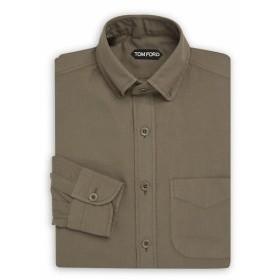トムフォード Men Clothing Classic Cotton Dress Shirt