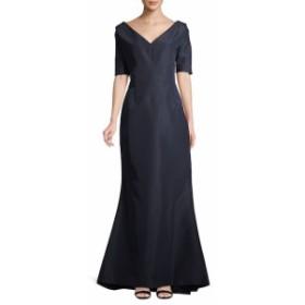 キャロライナヘレラ レディース ワンピース V-neck Gown