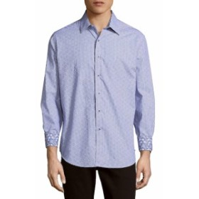 ロバートグラハム Men Clothing Perth Amboy Classic Fit Checked Button-Down Shirt