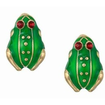 ケネス ジェイレーン レディースアクセサリ イヤリング ピアス Enamel Small Frog Clip Earrings
