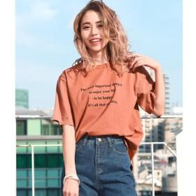 [マルイ]【セール】メッセージプリントTシャツ/チル(CHILLE)