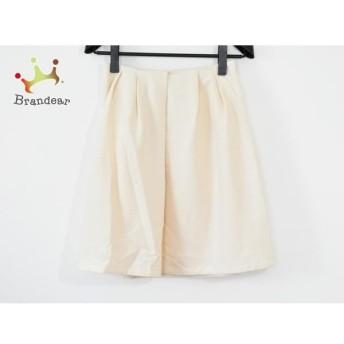 ジユウク 自由区/jiyuku スカート サイズ36 S レディース 美品 アイボリー スペシャル特価 20190815