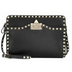 ヴァレンティノ ショルダーバッグ Garavani Rockstud leather crossbody bag