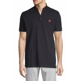 ザクープルズスポーツ Men Clothing Mandarin Collar Cotton Polo