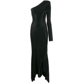 Alexandre Vauthier ワンショルダー ドレス - ブラック