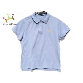 ラルフローレン RalphLauren 半袖ポロシャツ サイズ7f L レディース ライトブルー   スペシャル特価 20190831
