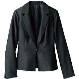30%OFF【レディース】 テーラードジャケット(フォーマル・卒業式・入学式) - セシール ■カラー:ブラック(シャンタン) ■サイズ:9AR,13AR,11AR,7AR,13ABR,15ABR