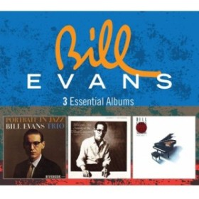 【CD輸入】 Bill Evans (Piano) ビルエバンス / 3 Essential Albums (3CD)