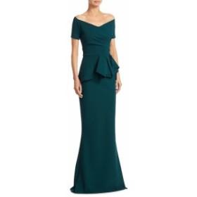 キアラボニラプチローブ レディース ワンピース Ruffled Mermaid Gown