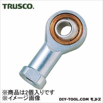 TRUSCO ロッドエンド無給油式メネジ6mm(2個入) CHS6 2 個