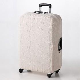 ぴったりフィットインテリア小物 - セシール ■カラー:アイボリー ■サイズ:スーツケース用