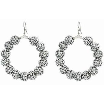 ケネス ジェイレーン レディースアクセサリ イヤリング ピアス Rhodium/Silver Resin Beads Circle Fishhook