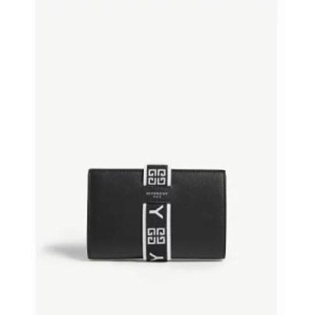 ジバンシー 財布 urban logo leather wallet Black