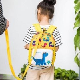恐竜 リュック 子供のリュックサック 小学生 迷子防止 幼稚園 リード付 キッズのリュック 迷子紐 保育園 恐竜 迷子リュック