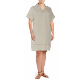 ラファイエット148ニューヨーク レディース ワンピース Baila Linen Shirtdress