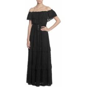キャサリンキャサリンマランドリノ レディース ワンピース Virginie Lace Off-The-Shoulder Maxi Dress