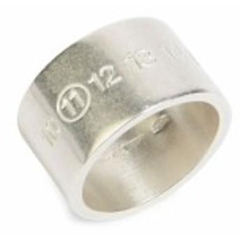 メゾンマルジェラ メンズ アクセサリー Oval Sterling Silver Ring