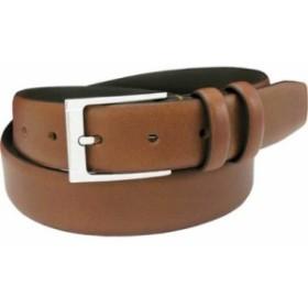 フローシャイム ベルト Full Grain Italian Leather Belt Cognac Full Grain Leather