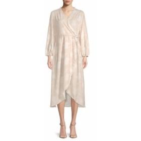 リー&ヴィオラ レディース ワンピース Printed Wrap Midi Dress