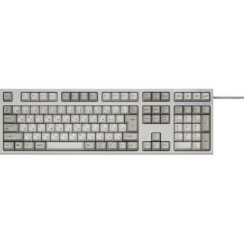 有線キーボード[USB・Win]REALFORCE SA R2 日本語112配列+APC機能 静音 ALL30g かな有り アイボリー R2SA-JP3-IV