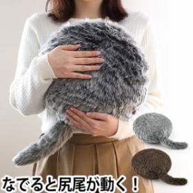 動物型ロボットクッション Qoobo クーボ しっぽクッション 電子ペット アニマルロボット セラピーロボット 癒し 猫 ねこ 尻尾 ユカイ工学