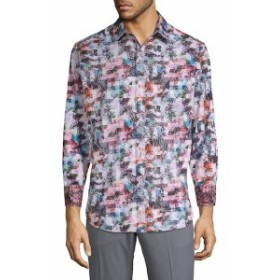 ロバートグラハム Men Clothing Printed Cotton Button-Down Shirt