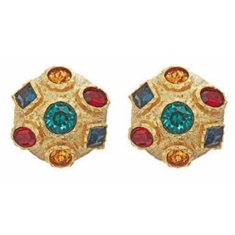 ケネス ジェイレーン レディースアクセサリ イヤリング ピアス Small Gold with Multi Gem Clip Earrings