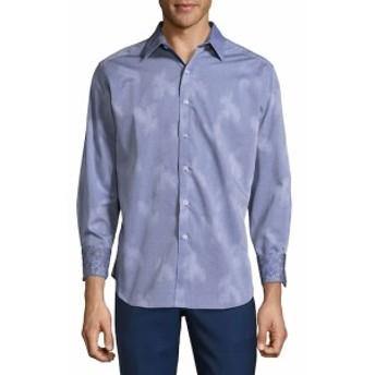 ロバートグラハム Men Clothing Plainfield Classic Fit Button-Down Shirt