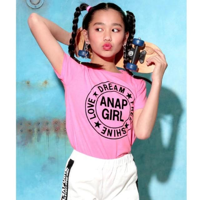 [マルイ]【セール】ラウンド星ロゴTOPS/アナップキッズ&ガール(ANAP KIDS&GIRL)