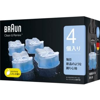ブラウン クリーン&リニューシステム専用 洗浄液 カートリッジ CCR4 CR (4コ入)