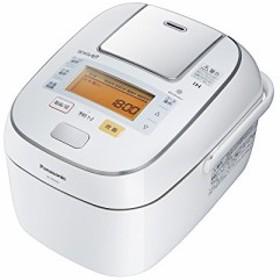 パナソニック 1升 炊飯器 圧力IH式 Wおどり炊き ホワイト SR-PW185-W(中古品)